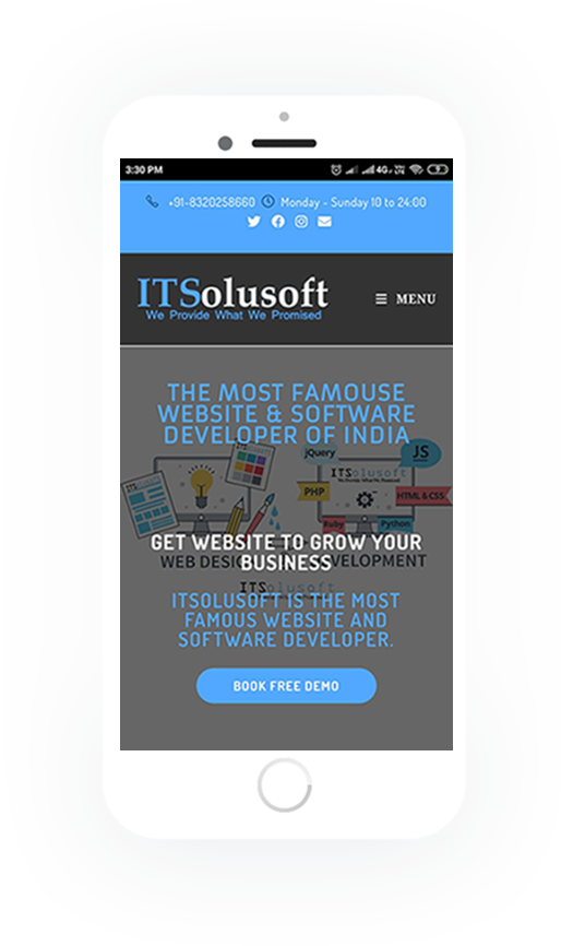 ITSolusoft || Website Development || Software Development Company India